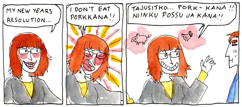 porkkanaa