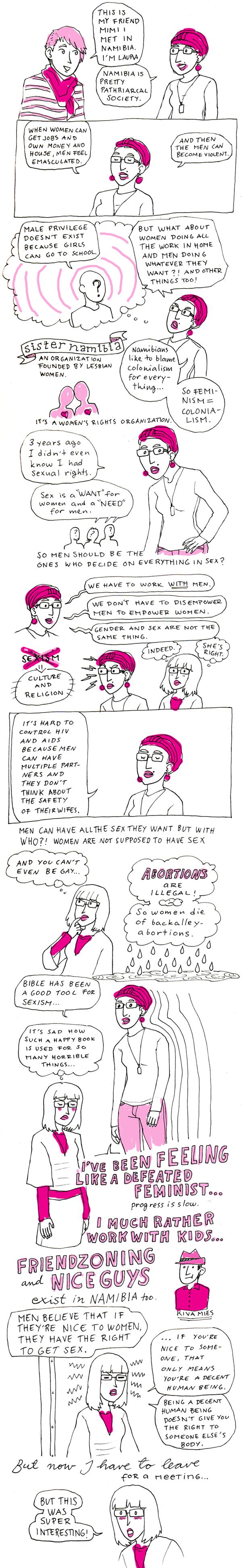 Feminismiä Namibiassa
