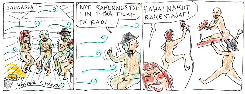 Kylmä sauna