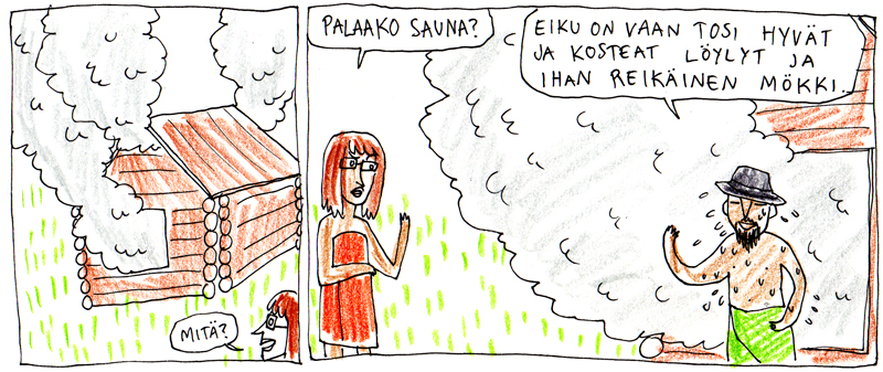 reikäinen sauna