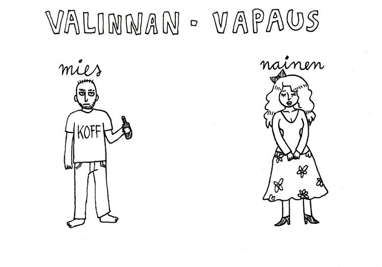 Mies tai nainen